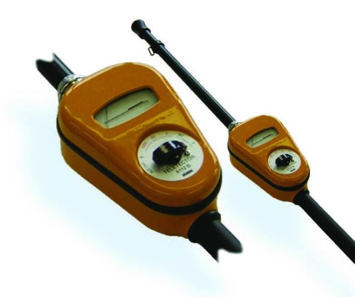 Automess Teletector Detector Assemby and probe wire
